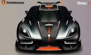 Koenigsegg One-1 supercar