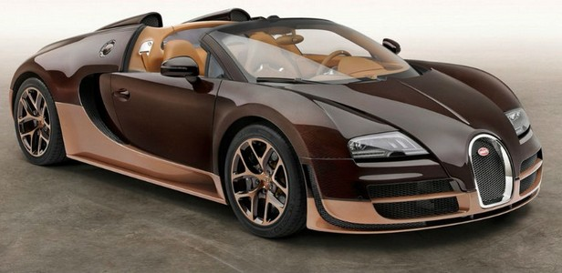 Exotic Bugatti light brown Cognac-Bugatti Veyron Grand Sport Vitesse Rembrandt-VIDEO
