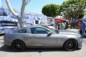 shelby mustang 1000hp gray