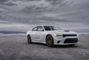 Dodge Charger SRT Hellcat 2015 front side