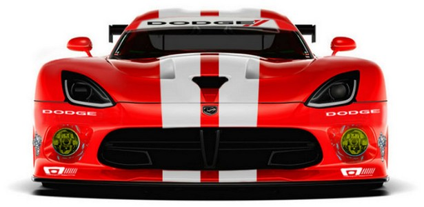DODGE return name VIPER in new racing version Dodge Viper SRT GTS-R – VIDEO