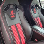 Ford Mustand Shelby GT-500 anderson-germany interior black-red