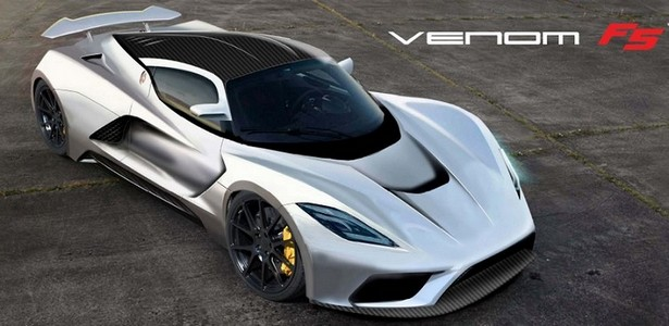 Hennessey's Supercar Venom F5 develops 466 kilometers per hour-Video