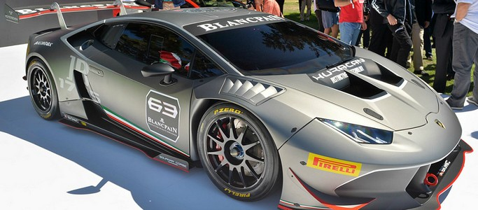 Lamborghini introduced a new model Huracan LP 620-2 Super Trofeo-presentation Video