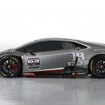 Lamborghini Huracan LP 620-2 Super Trofeo-race car side
