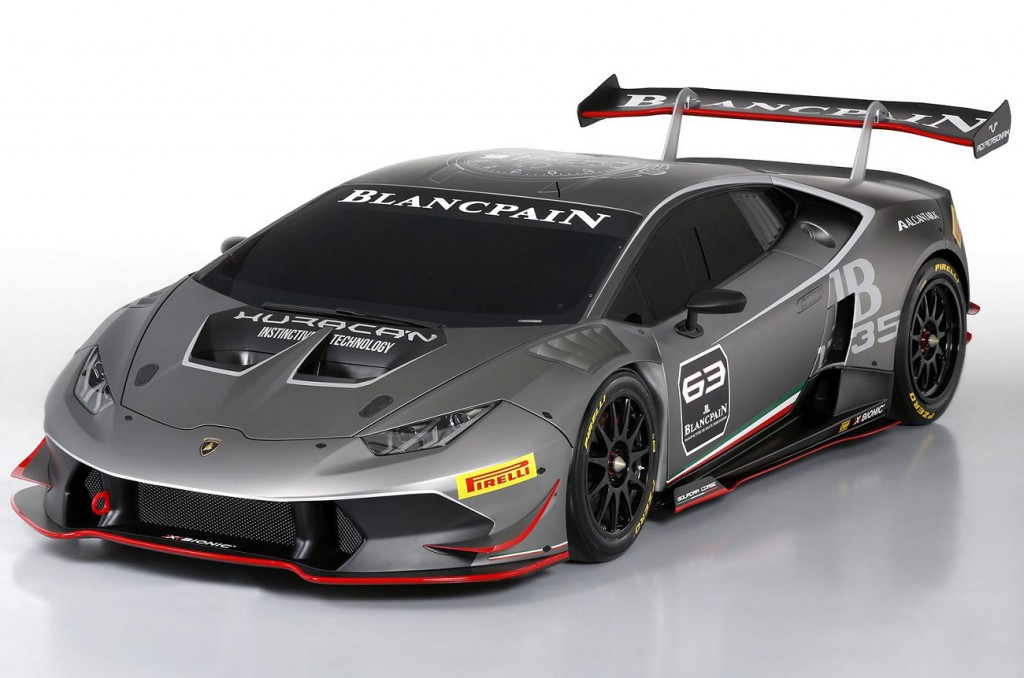 Lamborghini Huracan LP 620-2 Super Trofeo-race car