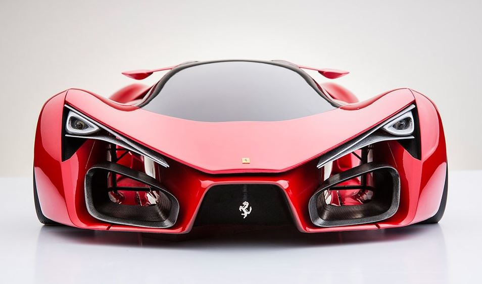 Ferrari Sci Fi Supercar Concept Arrives From Another Planet