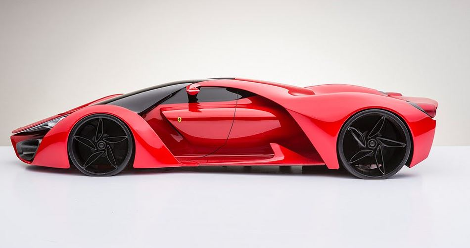 Ferrari F80 Price >> Ferrari F80 - Sci-Fi supercar concept arrives from another planet plus Bonus VIDEO LaFerrari ...
