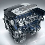 Mercedes Benz new S 65 AMG engine
