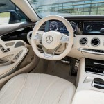 Mercedes Benz new S 65 AMG 2015 interior