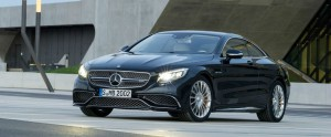 Mercedes Benz S 65 AMG Coupe 2015 front side feature logo