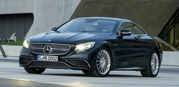 2015 Mercedes-Benz S65 AMG Coupe – World premiere of the fastest Coupe at Moscow Show 2014