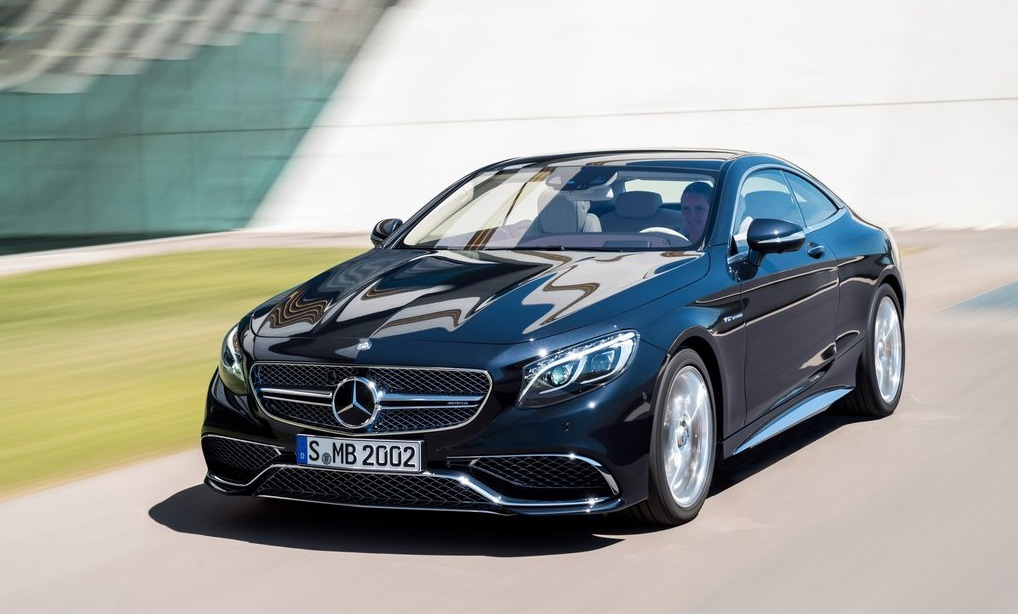 Mercedes Benz S 65 AMG Coupe 2015 front side
