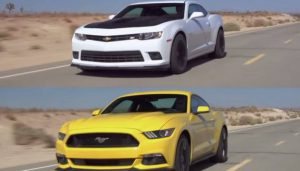 2015 Ford Mustang GT vs 2015 Chevrolet