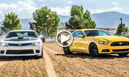 American Muscle Cars Battle: 2015 Ford Mustang GT vs. 2015 Chevrolet Camaro SS