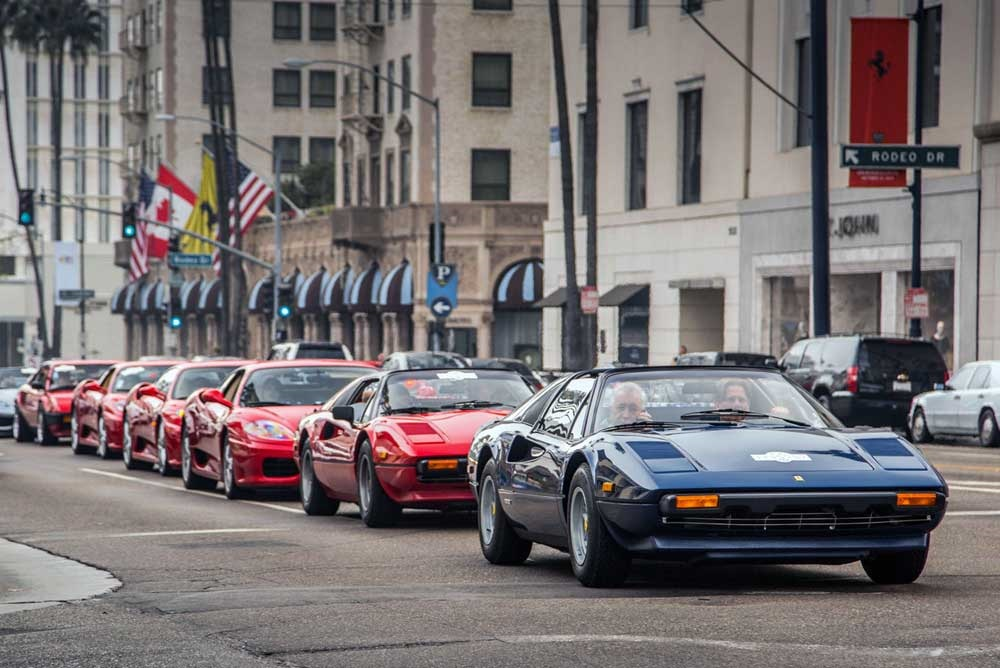 Beverly Hills Motor Cars: 1000 Ferrari Models In Beverly Hills On Rodeo Drive