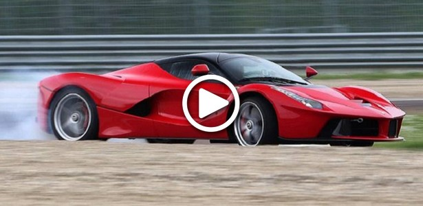 Onboard Video – Ferrari LaFerrari Flies with Unbelievable 343 km/h (213 mph)!