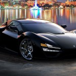 TRION NEMESIS faster than koenigsegg one1 front side view