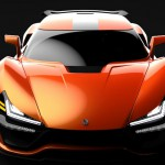 TRION NEMESIS faster than koenigsegg one1 front view