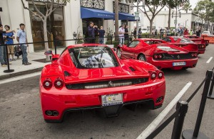 some of the newer ferrari supercars