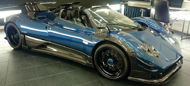 Pagani's One-off Supercar Zonda 760 Roadster Convertible-VIDEO