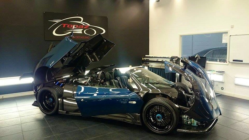 Pagani S One Off Supercar Zonda 760 Roadster Convertible
