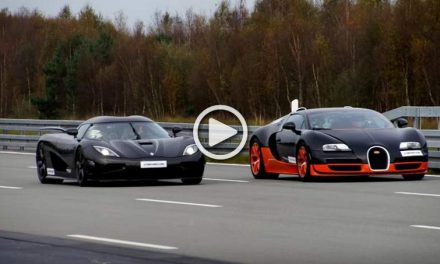 Race of the Century-Bugatti Veyron Grand Sport Vitesse vs. Koenigsegg Agera R
