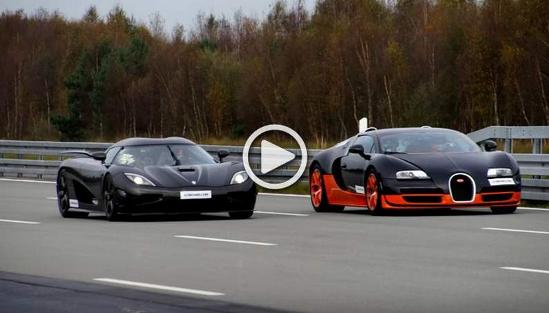 Race of the Century-Bugatti Veyron Grand Sport Vitesse vs ...