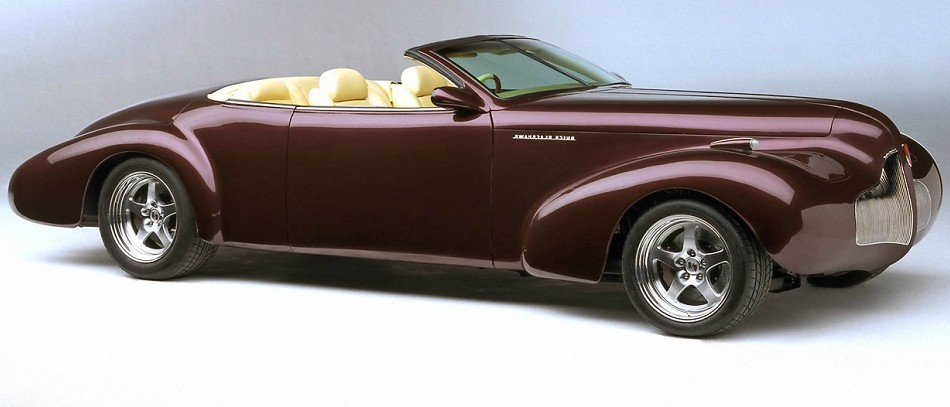 The Old School Buick Blackhawk 1996 Concept Auctioned For