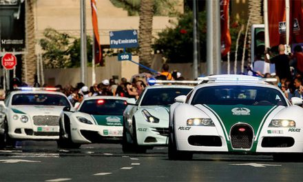 Only in Dubai – Police Supercars instead of Economical Vehicles!