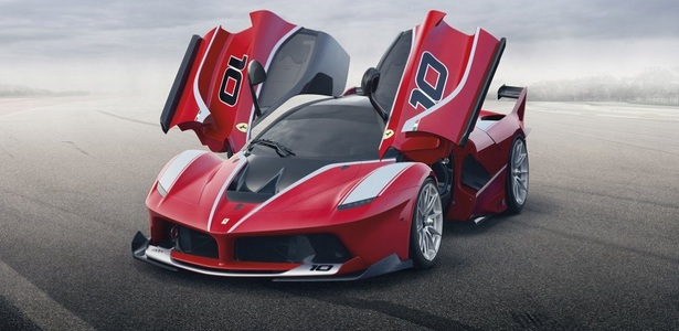 Ferrari FXX K- Exotic Supercar Designed Exclusively for the Racetrack!