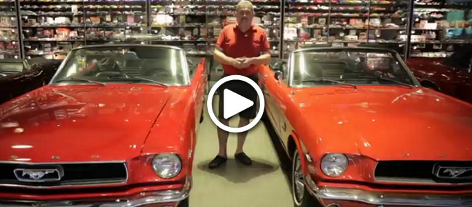 The Man with the Collection of 5,500 Ford Mustangs