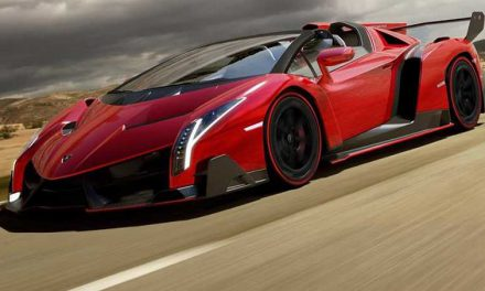 Lamborghini Veneno Roadster: Exceptional Open-top Race Car