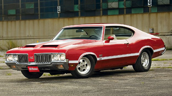 1970 oldsmobile 442 front view