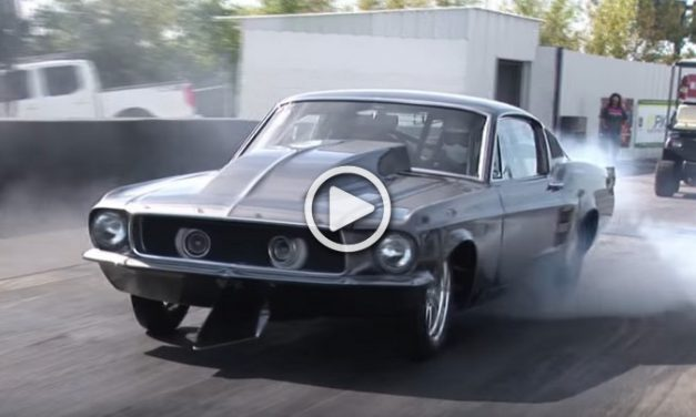 "'67 Ford Mustang Fastback ""Helleanor"" Powered by a 2,500 hp Chevy V-8!"