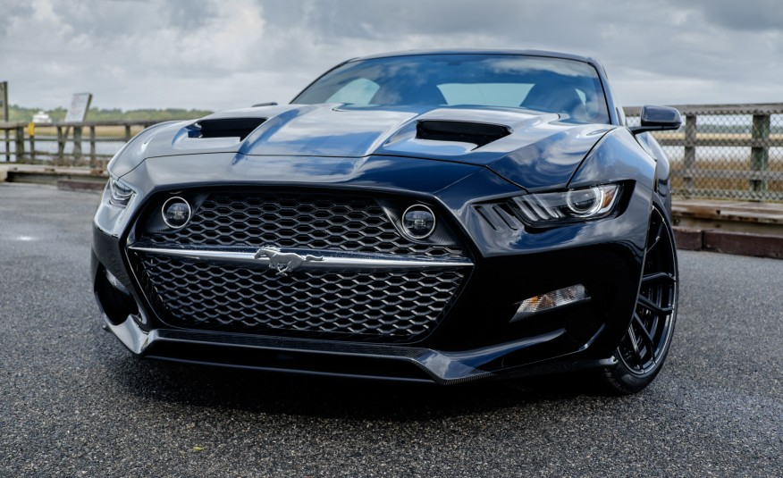 Brutal And Fast Ford Mustang Fisker Galpin Auto Sports Rocket The Name Tells Allon 2015 Ford Mustang Rear Suspension