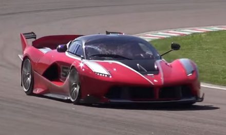 Ferrari FXX K Screaming around Fiorano! VIDEO