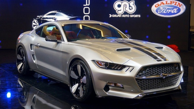 Brutal And Fast: Ford Mustang Rocket By Galpin Auto Sports & Fisker