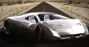 Lyons Motor Car LM2 Streamliner-supercar