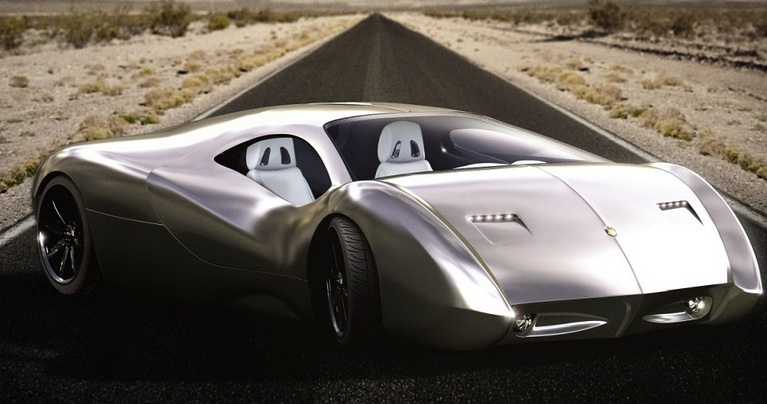US Supercar with 1.700 HP – LM2 Streamliner by Lyons Motor Car Debut at New York Auto Show