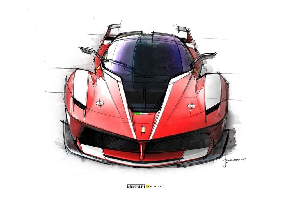 Designing The Spectacular Ferrari Fxx K Super Cars Corner