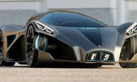 The 2016 BMW i9 Concept Has a Pretty Wild Design