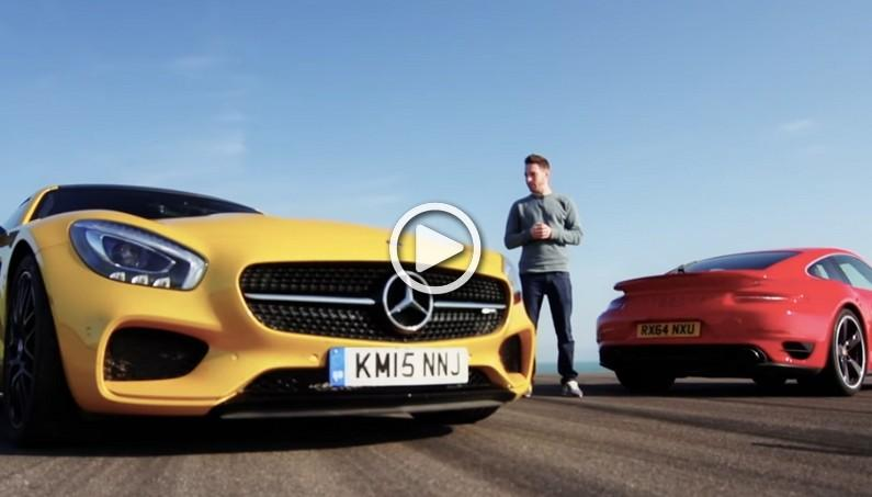 Which One is Faster: Mercedes AMG GT S or Porsche 911 Turbo?