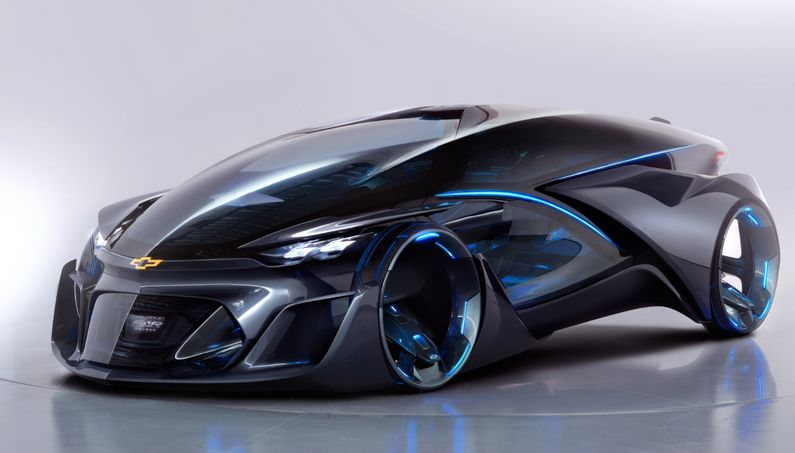 Chevrolet Fnr Is The Car Of Tomorrow Unique Autonomous Electric Vehicle Concept