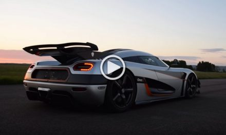 Supercar Koenigsegg One:1 Beats the  0-300-0 km/h Record!