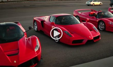 The Greatest Ferrari Models against Each other: 288 GTO vs. F40 vs. F50 vs. Enzo vs. LaFerrari