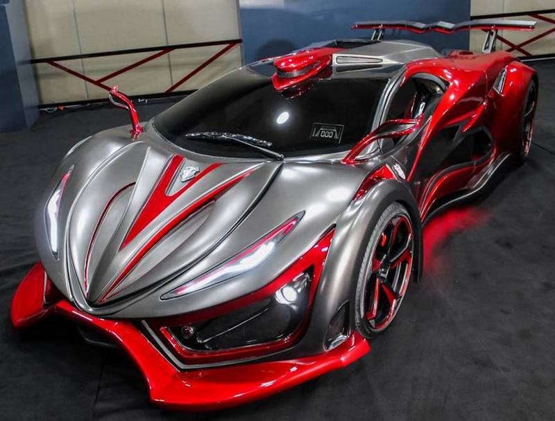 Mexican Exotic Chili Supercar With 1400 HP! VIDEO
