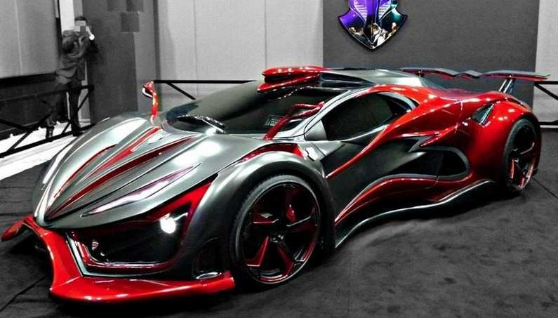 Mexican Designed Italian Built Inferno Exotic Supercar