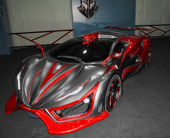 Mexican Exotic Chili Supercar With 1400 Hp on drag race car parts