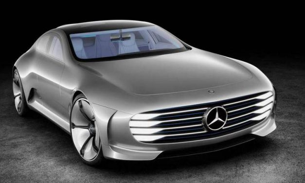 If This is the Future We Are In! Mercedes Concept IAA-Aerodynamic Intelligent Car